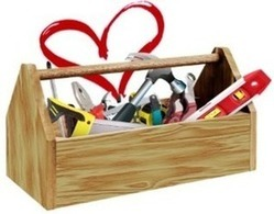 toolbox with heart