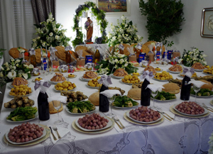 Saint Joseph table