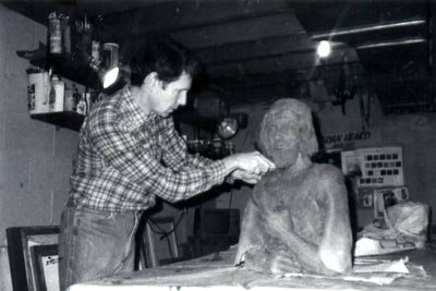Brian Heard works on Joseph