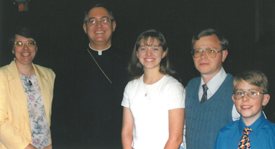 Eagle of the Cross 1999 - Wendy Trares & family