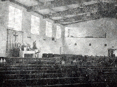 church choir loft 1963